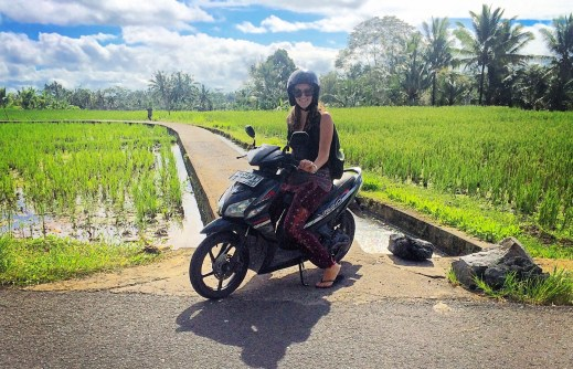 Indonesia (c/o Made, the friendly man I met next to that rice paddy)