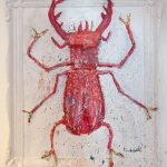 """Torres"" 60x50cm. This stag beetle has girlpower like a true bull!"