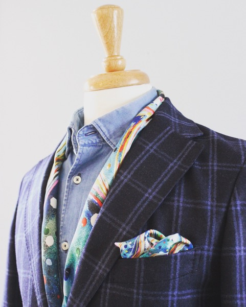 pocket square jacket