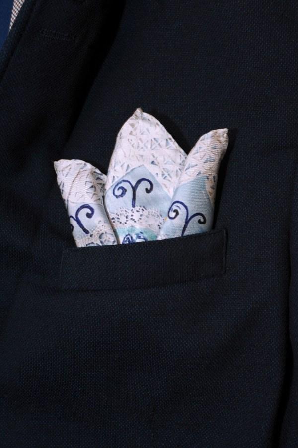 exclusive silk scarf jacket