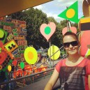 Suddenly we ended up at the Festival of Love (Southbank)!