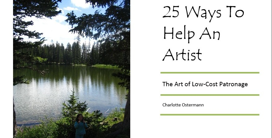 Support for Art and Artists – Not as Expensive as You Think!