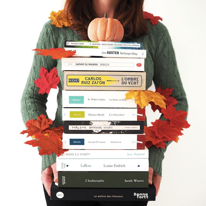 12 livres à lire pendant l'automne