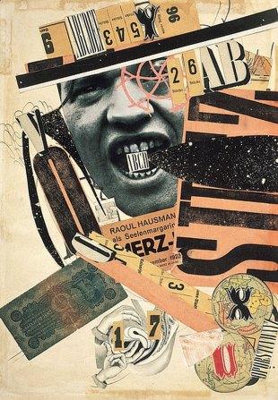 ABDC (1924) by Raoul Hausmann