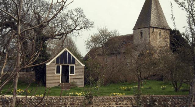 Where writers write. Virginia Woolf's writing lodge.