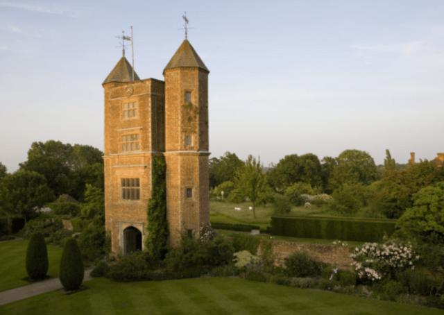 Vita Sackville-West's writing room, the tower at Sissinghurst