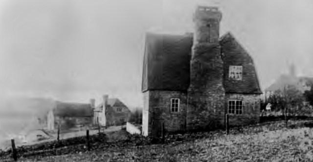 Where writers write, Edward Thomas house at Wick Green