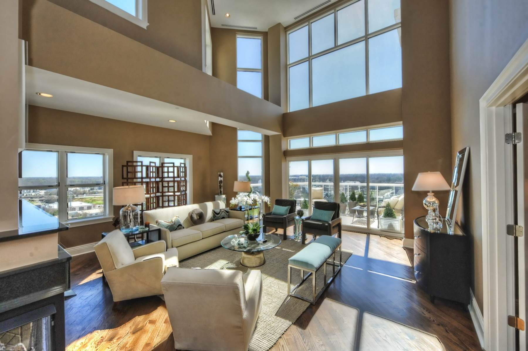 The Madison Penthouses  Charlotte Penthouses
