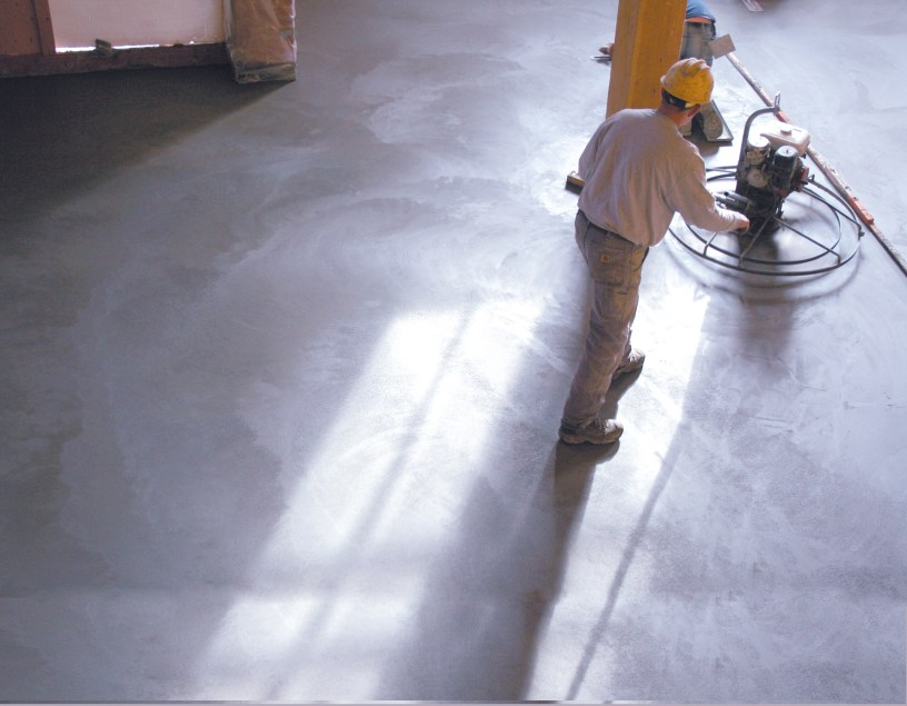 Learn how to maintain and finish your concrete floors