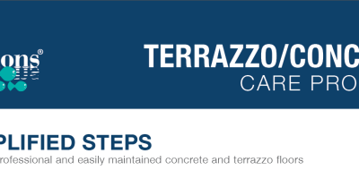 terrazzo/concrete care program