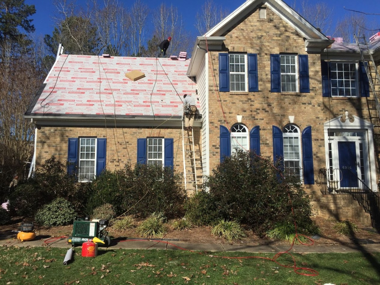 RELIABLE ROOFING IN BALLANTYNE, CHARLOTTE NC AREA