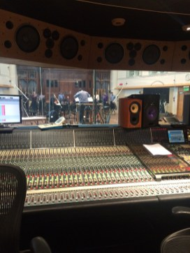 Mixing Desk in the Hall at AIR Studios