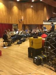 Brass session at Angel Studios, Studio 1