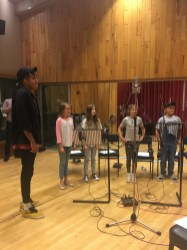 Childrens Choir session at Angel Studios, Studio 1