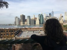 Grace viewing her favourite city