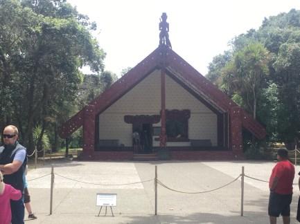 Maori peace/meeting house