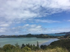 View coming down the hill into Coromandel Town