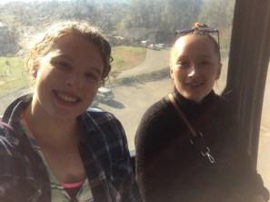 Gondola selfie with Ulrikke