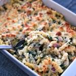 Spinach Artichoke Pasta