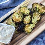 Crispy Parmesan Brussel Sprouts