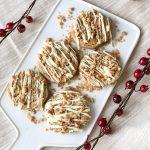 Churro Toffee Cookies