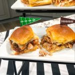 BBQ Chicken & Caramelized Onion Sliders