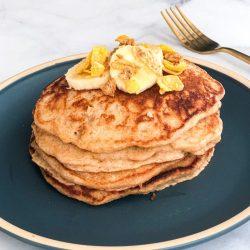 Banana Crunch Pancakes