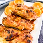 Chipotle Orange Drumsticks