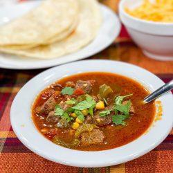 Beef Fajita Soup