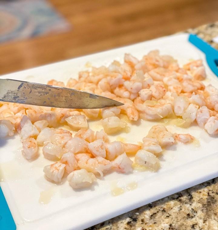 Shrimp Scampi Spinach Dip