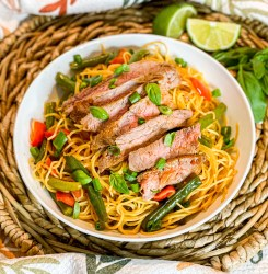 Thai Steak & Noodle Bowl