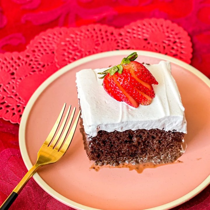 Mexican Hot Chocolate Tres Leches Cake