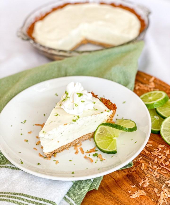 Frozen Coconut Lime Pie