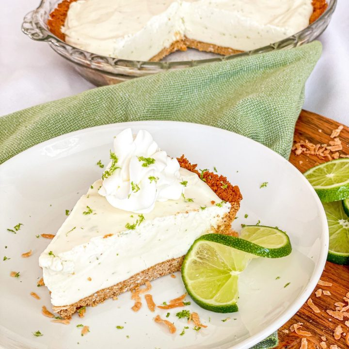 Frozen Coconut Lime Pie