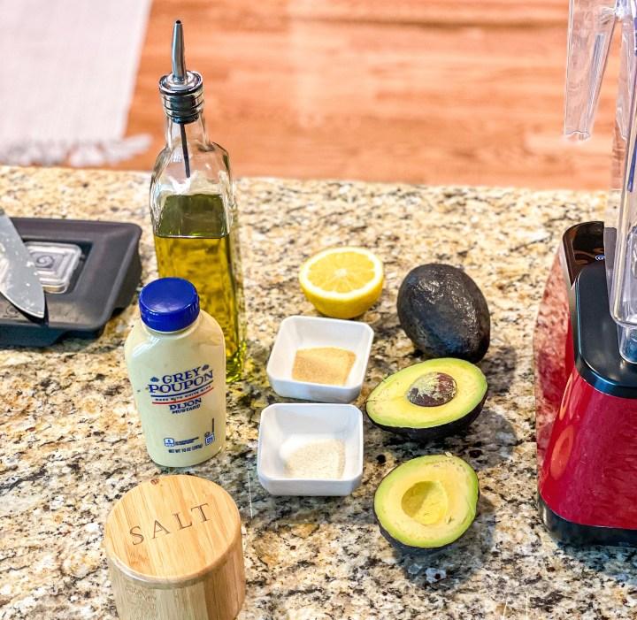 Avocado Mayo Ingredients