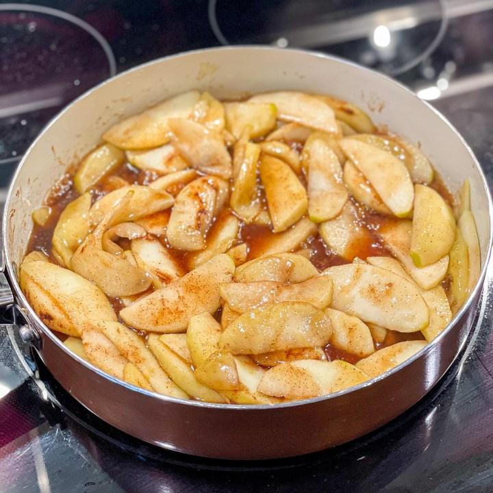 Brown sugar cinnamon apples