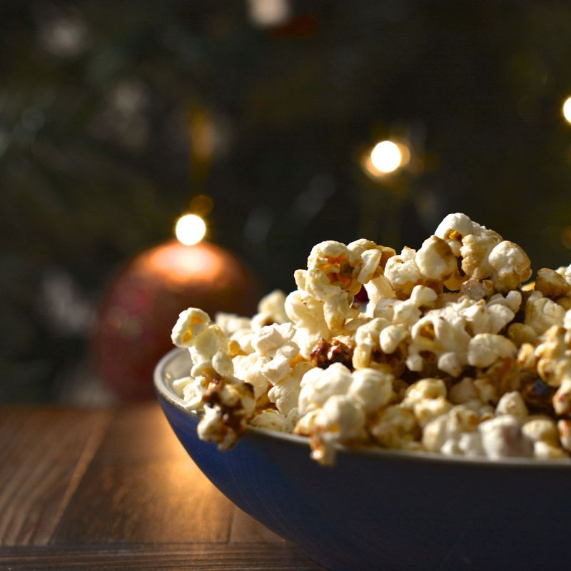 Spiced Orange Popcorn