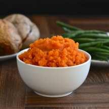 carrot swede mash side
