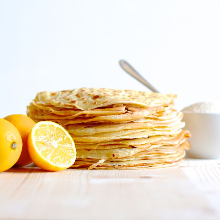 How to make traditional pancakes. Just what you need for pancake day.