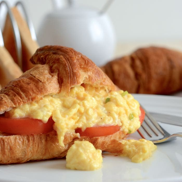 How to make scrambled eggs - Get perfect soft and creamy scrambled eggs every time with this really simple recipe.