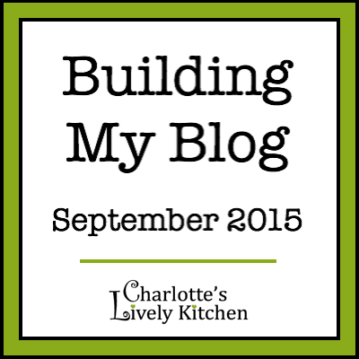 Building my blog September 2015 badge