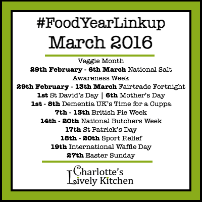 Food Year Linkup March 2016