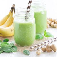 Banana Green Smoothie 2