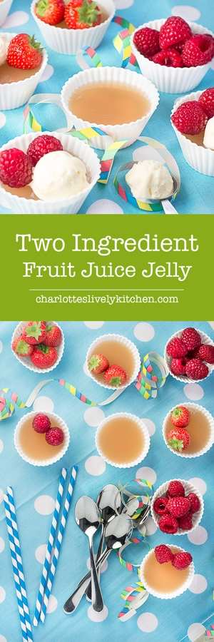 Treat your little ones to this simple two ingredient homemade jelly - made from fresh fruit juice it even counts towards their five-a-day.