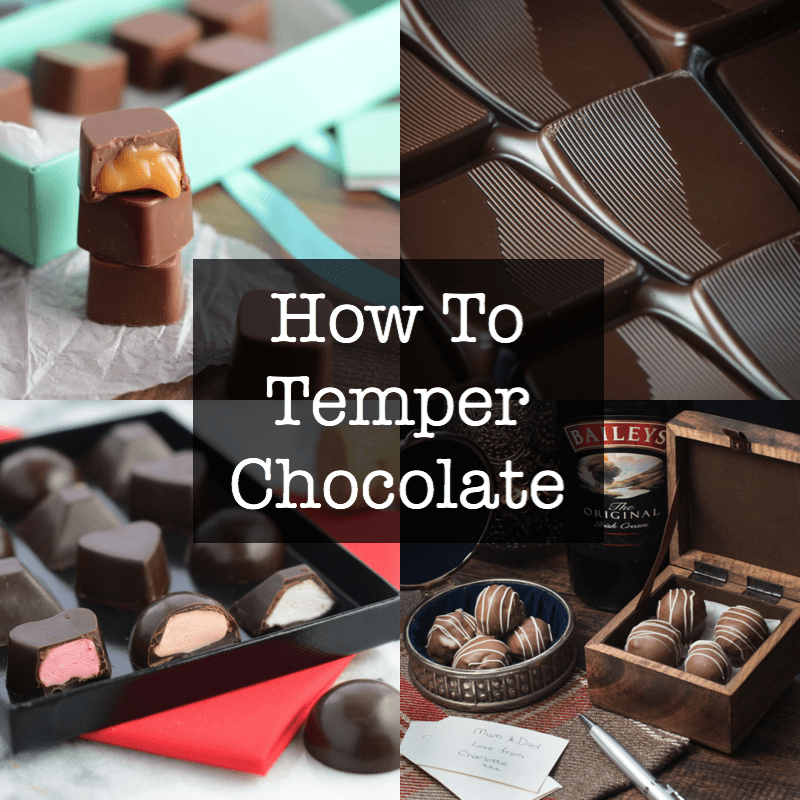 How to temper chocolate - video tutorial