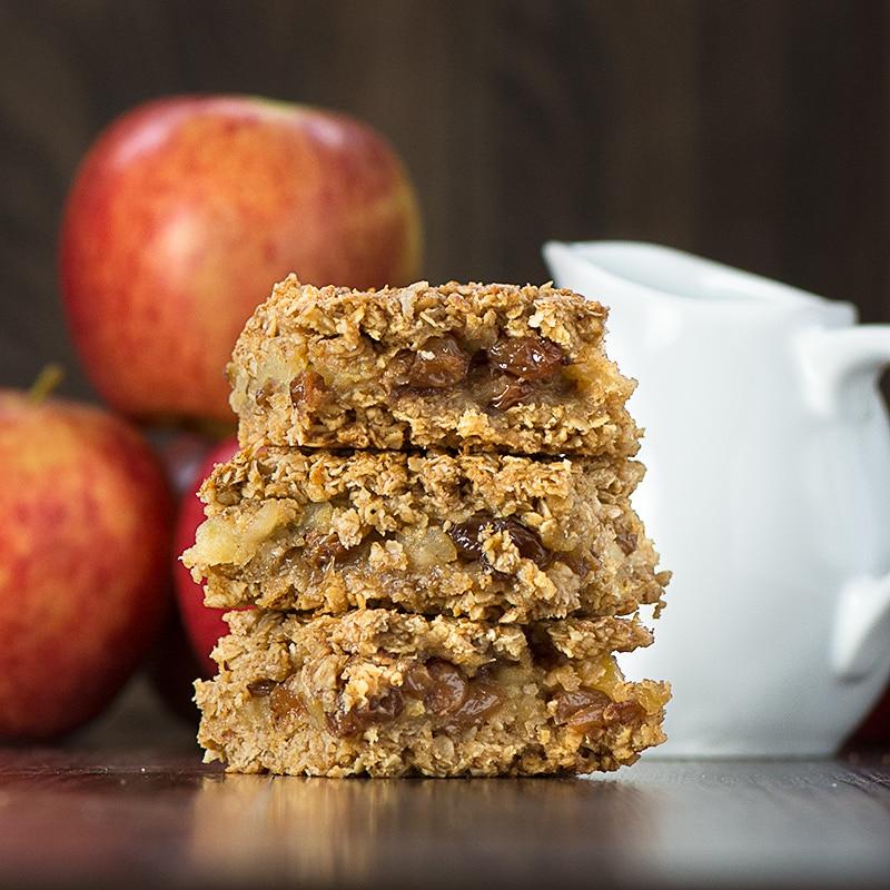 Apple Crumble Flapjacks Recipe