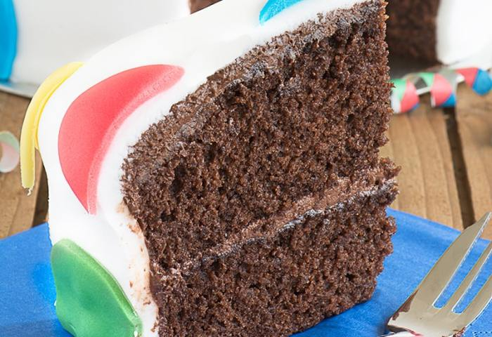 Birthday Cake All In One Vanilla Sponge Charlottes Lively Kitchen