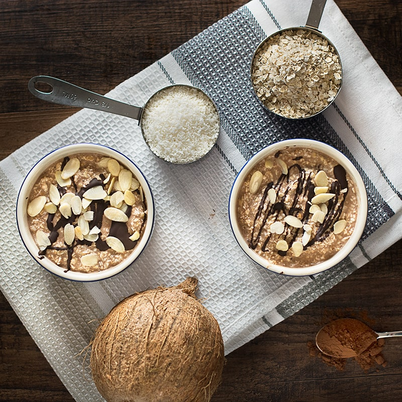Chocolate-Coconut Charlotte Recipe — Dishmaps