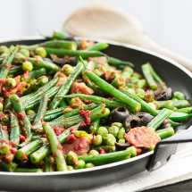 Green-Beans-Peas-and-Parma-Ham-1