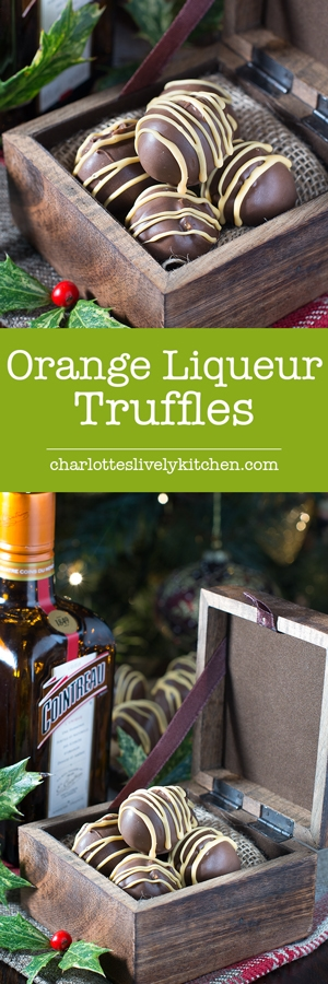 How to make orange liqueur truffles. There are two versions of this recipe, my original chocolate coated truffles and a quick and easy version. Both versions taste absolutely delicious and are the perfect gift for someone special.